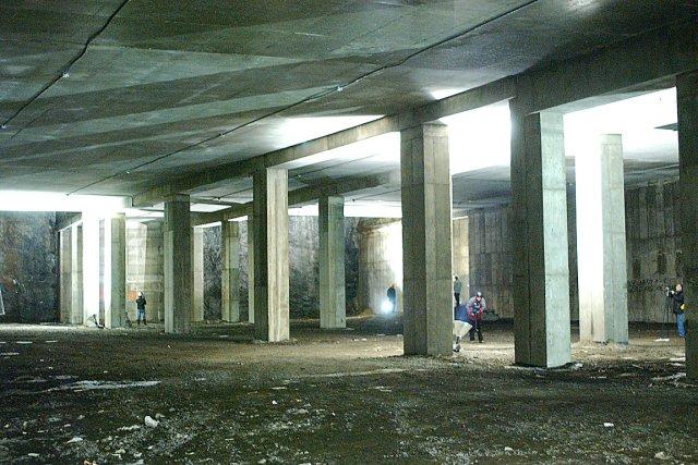 Sous les bretelles de l'autoroute Dufferin-Montmorency... (Photothèque Le Soleil, Jean-Marie Villeneuve)