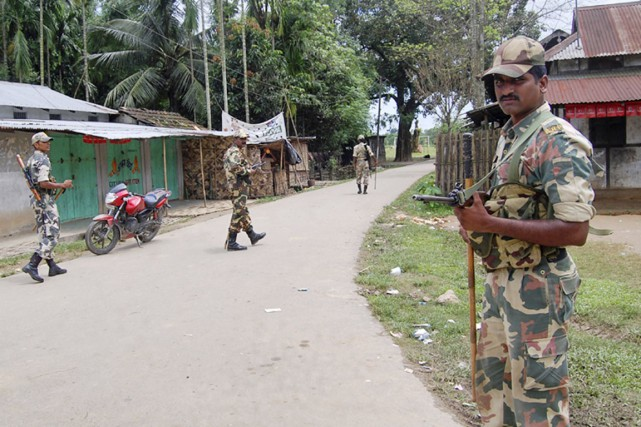 L'État d'Assam, frontalier du Bhoutan et du Bangladesh,... (PHOTO REUTERS)