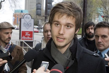 En se portant candidat dans Laval-des-Rapides, Léo Bureau-Blouin... (Archives PC)