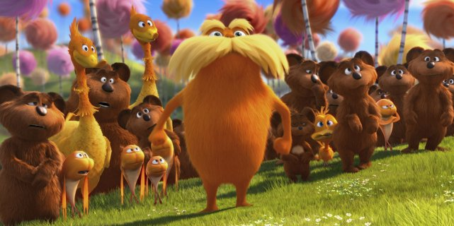 Si le film d'animation The Lorax témoigne d'un... (Photo fournie par Universal Pictures)
