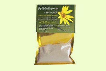 La poudre de topinambour biologique est vendue dans...