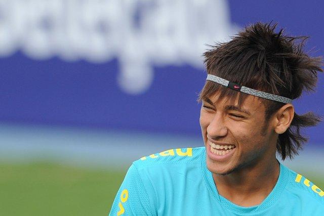 Neymar a aussi mérité ce titre l'an dernier.... (PHOTO VANDERLEI ALMEIDA, AGENCE FRANCE-PRESSE)