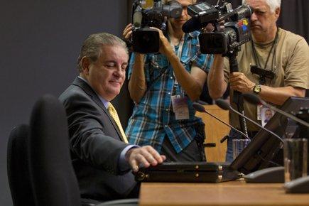 Le chef de l'Unité anticollusion, Jacques Duchesneau, a... (Photo: Ivanoh Demers, La Presse)