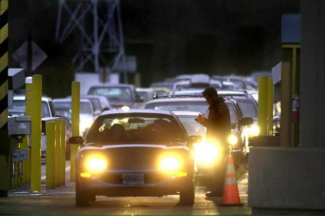 L'agence des services frontaliers des États-Unis a dit avoir arrêté un citoyen... (PHOTO JAY DROWNS, archives AFP)