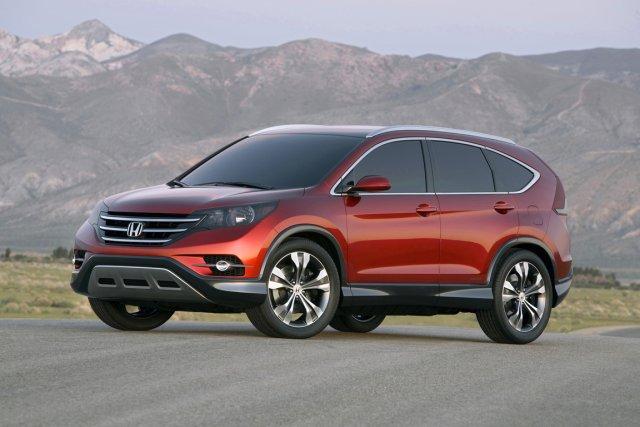 La nouvelle génération de Honda CR-V est attendue... (Photo fournie par Honda)