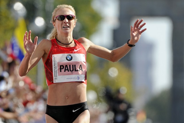 Paula Radcliffe... (Photo Odd Andersen, archives AFP)