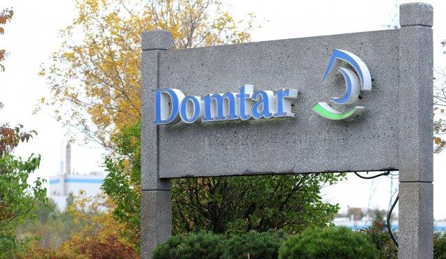 L'action de Domtar retraitait mercredi midi de 1,59$... (ARCHIVES, RÉDACTION)