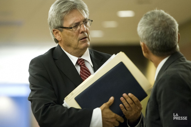 L'avocat d'Idelson Guerrier,François Bérichon.... (Photo: Ivanoh Demers, Archives La Presse)