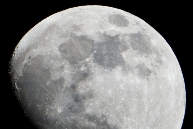 La Lune... (Photo AFP)
