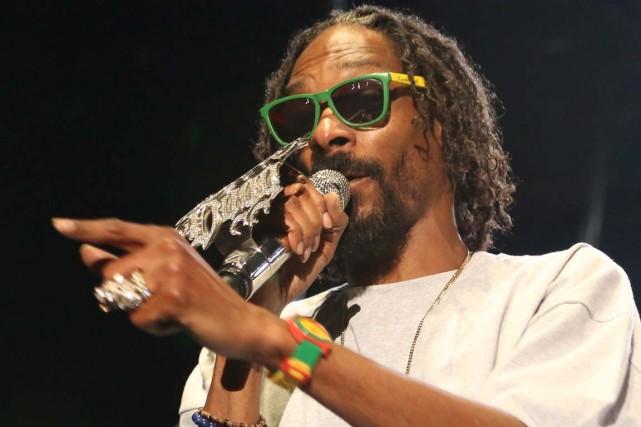 Snoop Dogg au Ottawa Bluesfest.... (Photo: archives La Presse Canadienne)