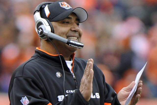 L'entraîneur-chef des Bengals de Cincinnati, Marvin Lewis.... (Photo archives Reuters)