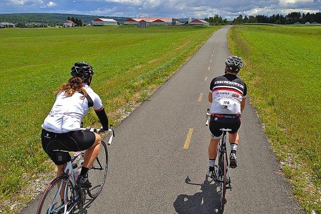La Cycloroute de Bellechasse offre aux amateurs de... (Photo collaboration spéciale, Jean-Sébastien Massicotte)