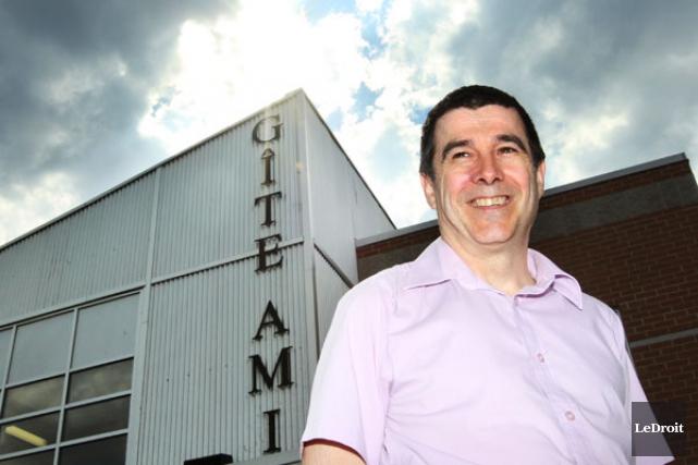 Le directeur du Gîte Ami, Luc Villemaire, rappelle... (Etienne Ranger, archives LeDroit)