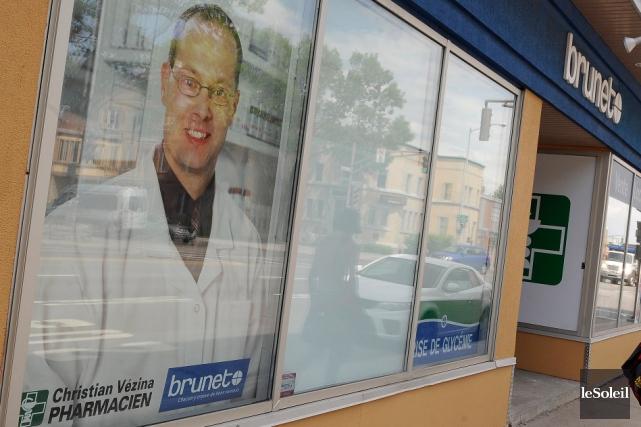 Le pharmacien Christian Vézina était propriétaire de la... (Photothèque Le Soleil, Patrice Laroche)