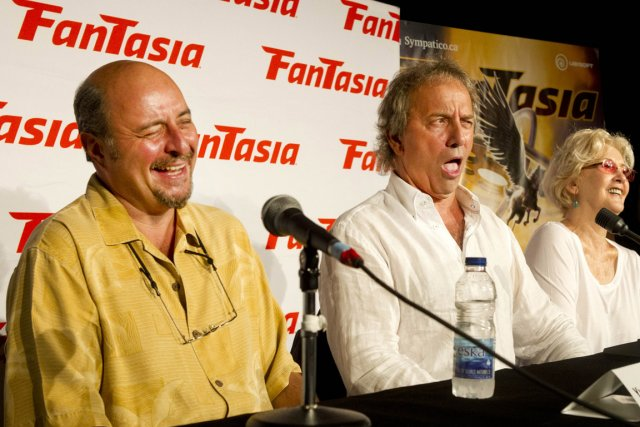Le réalisateur Yves Simoneau et les comédiens Michel... (Photo: Robert Skinner, La Presse)