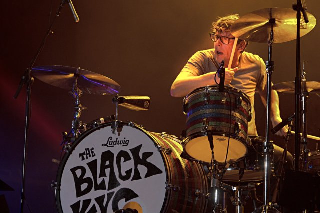 Les Black Keys, hier soir.... (Photo: Alain Décarie, collaboration spéciale)