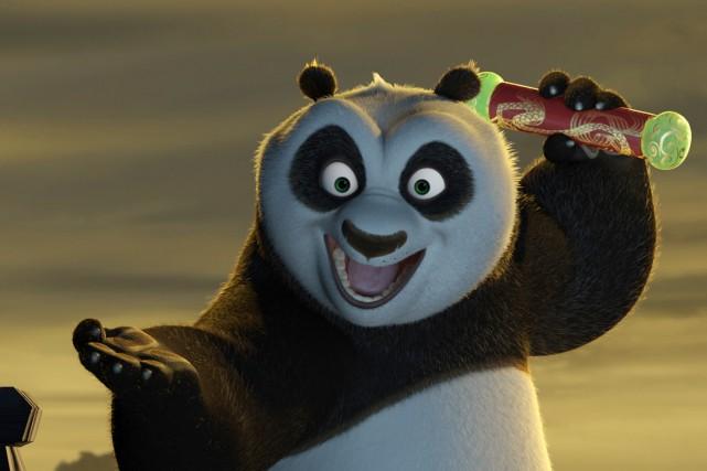 Le film Kung Fu Panda de DreamWorks.... (PHOTO FOURNIE PAR DREAMWORKS)