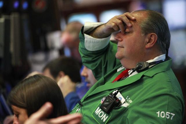 Les bonus des banquiers et courtiersdevraient baisser en... (PHOTO BRENDAN McDERMID, REUTERS)