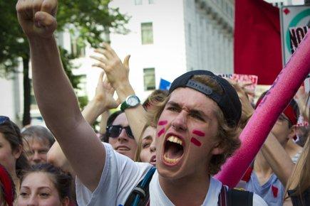 Des milliers d'élèves et d'étudiants ne se présenteront pas en classe à la... (Photo: André Pichette, La Presse)