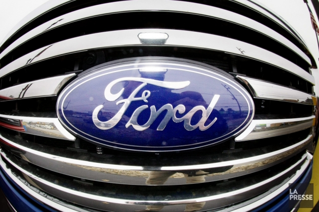 Le constructeur automobile américain Ford (F) a engrangé un... (PHOTO ASSOCIATED PRESS)