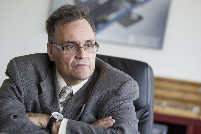 Richard Boudreault, président d'Orbite Aluminae.... (Photo Édouard Plante-Fréchette, La Presse)