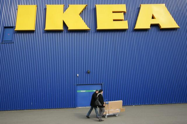 IKEA Canada annonce le rappel de sa balançoire pour enfants GungGung, même si... (PHOTO OLIVIER PON, REUTERS)