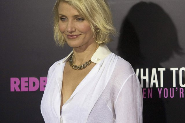 Cameron Diaz... (Photo: Reuters)