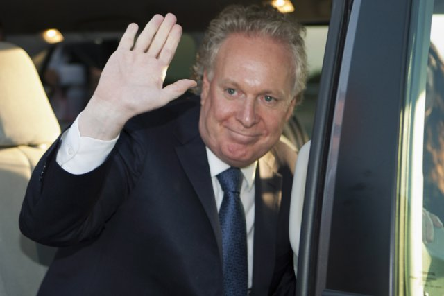 Jean Charest... (Photo La Presse Canadienne)