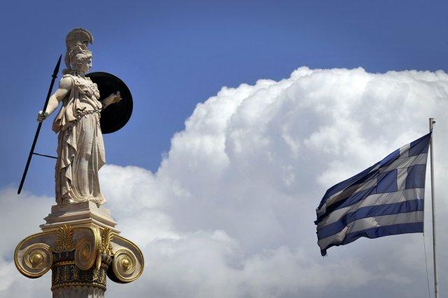 La Grèce a adressé une lettre à la Commission européenne demandant d'utiliser... (PHOTO LOUISA GOULIAMAKI, AFP)