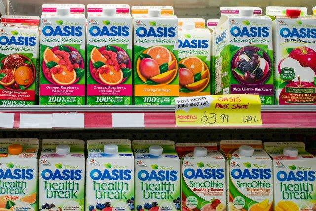 Lassonde fabrique et vend des jus et des... (PHOTO ÉDOUARD PLANTE-FRÉCHETTE, LA PRESSE)