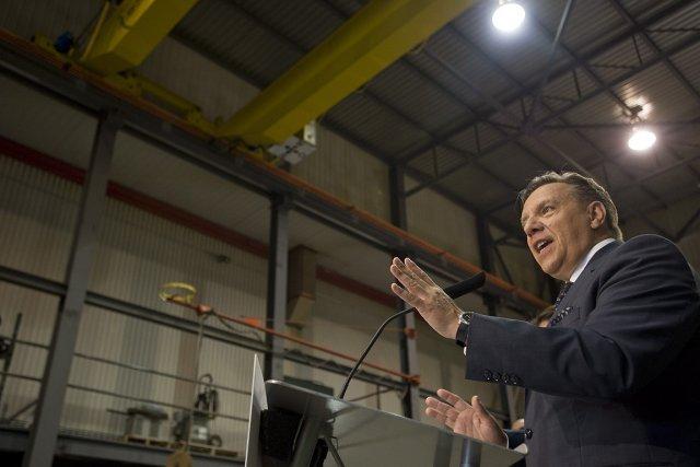 Le chef de la Coalition avenir Québec François... (Photo: PC)