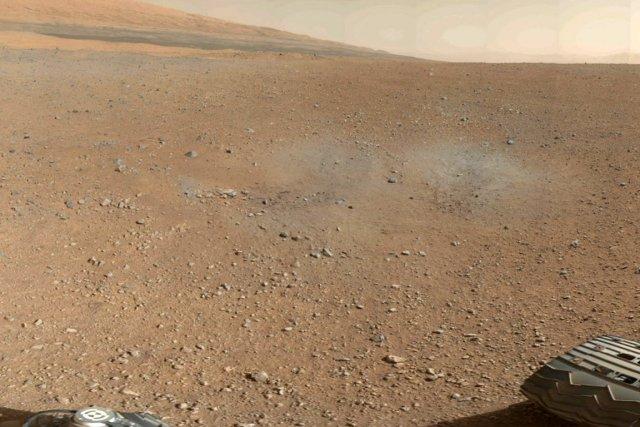 Une photo de Mars prise par la sonde... (Photo: Reuters)