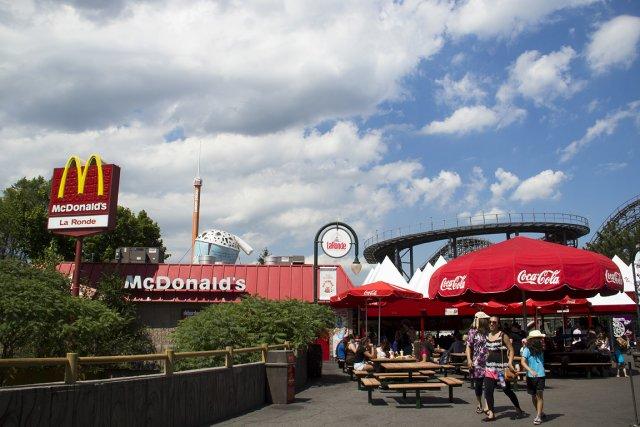 Mauvaise surprise: le McDonald's de La Ronde ne... (Photo: Ninon Pednault, La Presse)