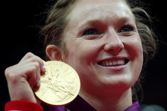 Rosannagh Maclennan, la seule athlète canadienne médaillée d'or... (Photo d'archives, Reuters)