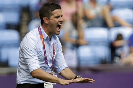 John Herdman... (Photo: AP)