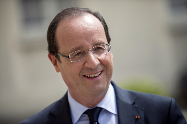 François Hollande, le président de la France.... (Photo: Reuters)