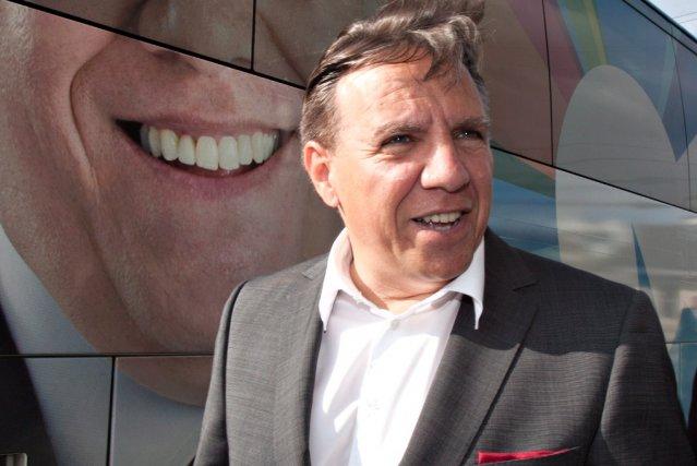 Le chef de la CAQ, François Legault... (La Presse Canadienne)