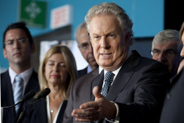 Le premier ministre du Québec, Jean Charest.... (Photo: Jacques Boissinot, PC)