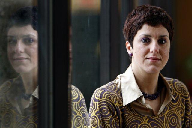 La candidate péquiste Djemila Benhabib.... (Photo: Robert Mailloux, La Presse)