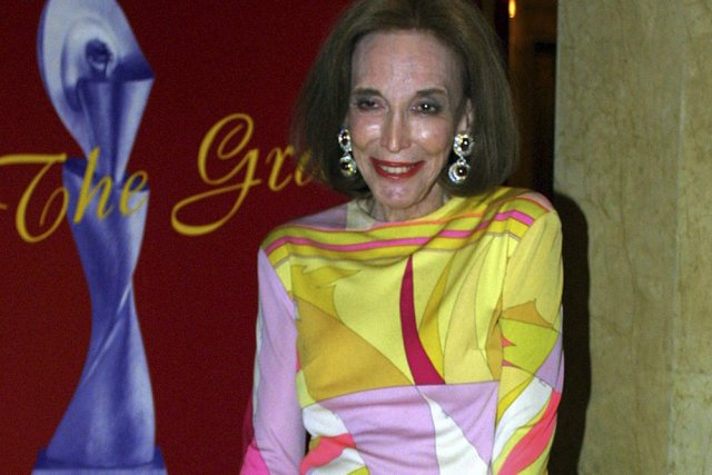 Helen Gurley Brown en 2001.... (Photo: archives Reuters)