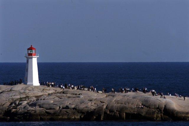 Vue sur l'océan Atlantique depuis Peggy's Cove, en... (Photo: PC (Archives))