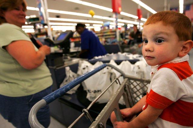 L'inflation a légèrement accéléré en janvier aux États-Unis pour le troisième... (Photo AFP)