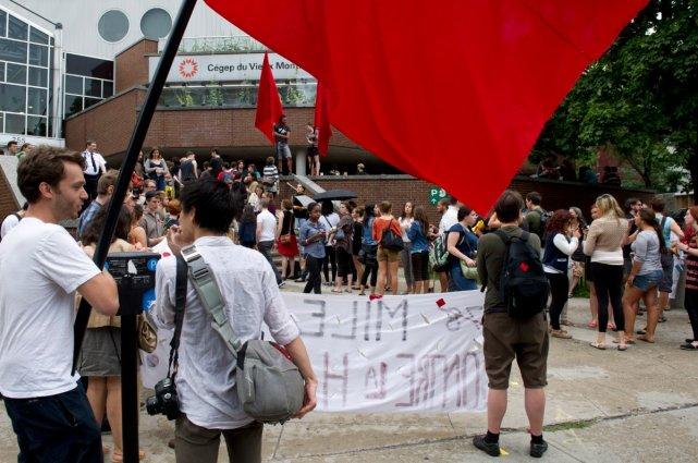 Un nouveau vote de grève aura lieu aujourd'hui... (Photo La Presse Canadienne)