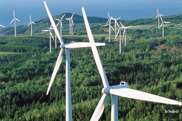 Pour Gaspé, Matane et New Richmond, l'industrie éolienne... (Photothèque Le Soleil)
