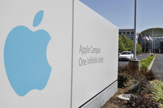 Les quartiers généraux d'Apple, à Cupertino, en Californie... (Photo Associated Press)