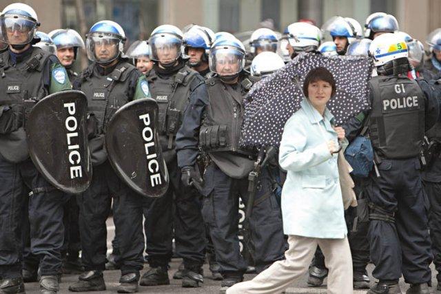 Selon Tourisme Québec, le conflit étudiant n'a pas... (Photo: David Boily, La Presse)