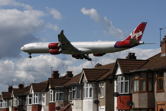 Un avion de Virgin Atlantic en voie de... (Photo: Reuters)