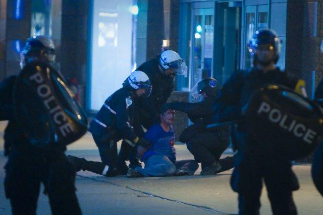 La facture du conflit étudiant a atteint 15 millions au Service de police de... (PHOTO ANDRE PICHETTE, LA PRESSE)