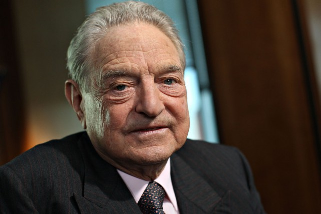 George Soros... (Photo Daniel Acker, archives Bloomberg)