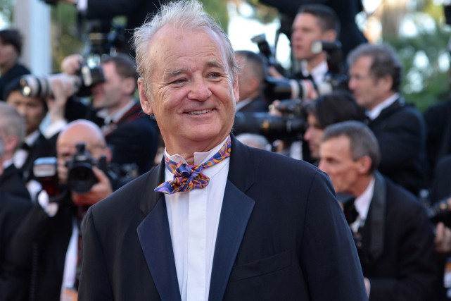 Bill Murray... (Agence France-Presse)